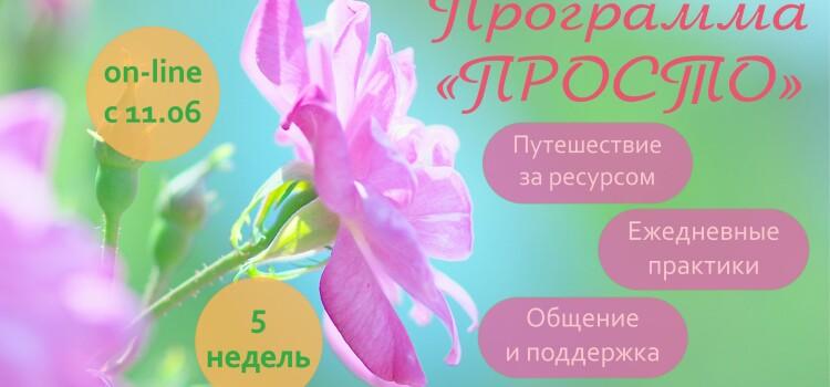 """Психологическая программа """"ПРОСТО"""" 2 поток"""
